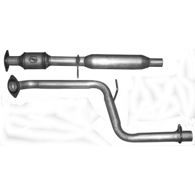 Catalytic Converter w/Front pipe and Resonator  (24386)